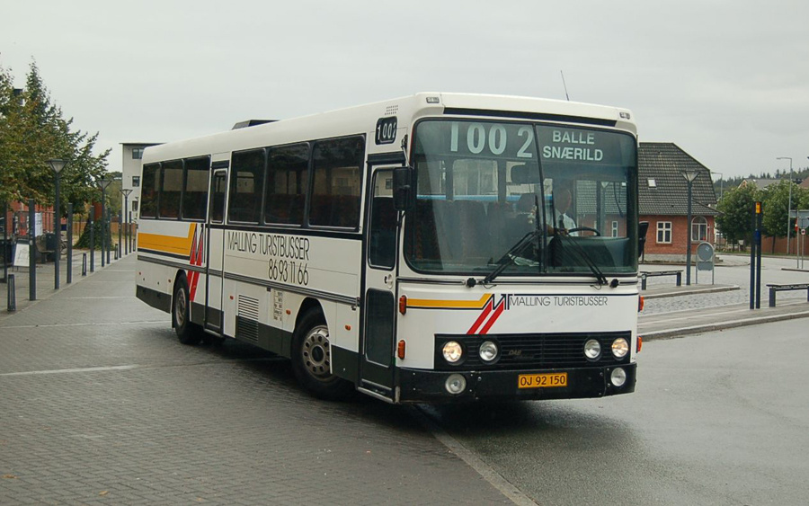 Malling Turistbusser 21/OJ92150 i Odder den 17. september 2008