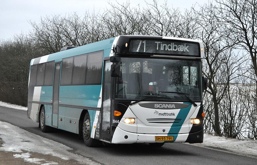 Arriva 2844/SH93791 nær Viborg den 28. februar 2011