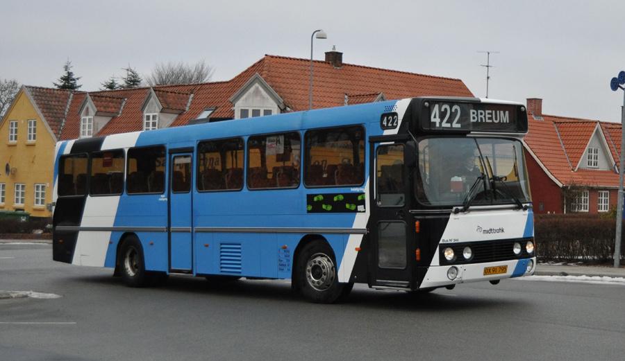 Bent Thykjær 344/OX91795 på Nordsalling den 2. marts 2011