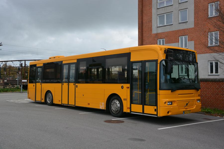 Gonbus 605/BZ62925 ved Roskilde Station den 1. september 2018
