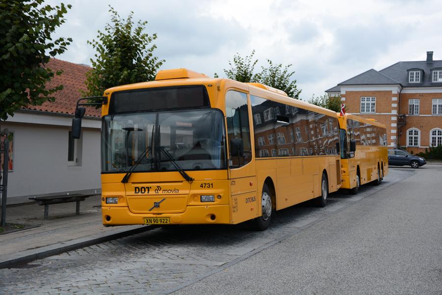 Ditobus 4731/XN90922 på Præstø Rutebilstation den 8. september 2018