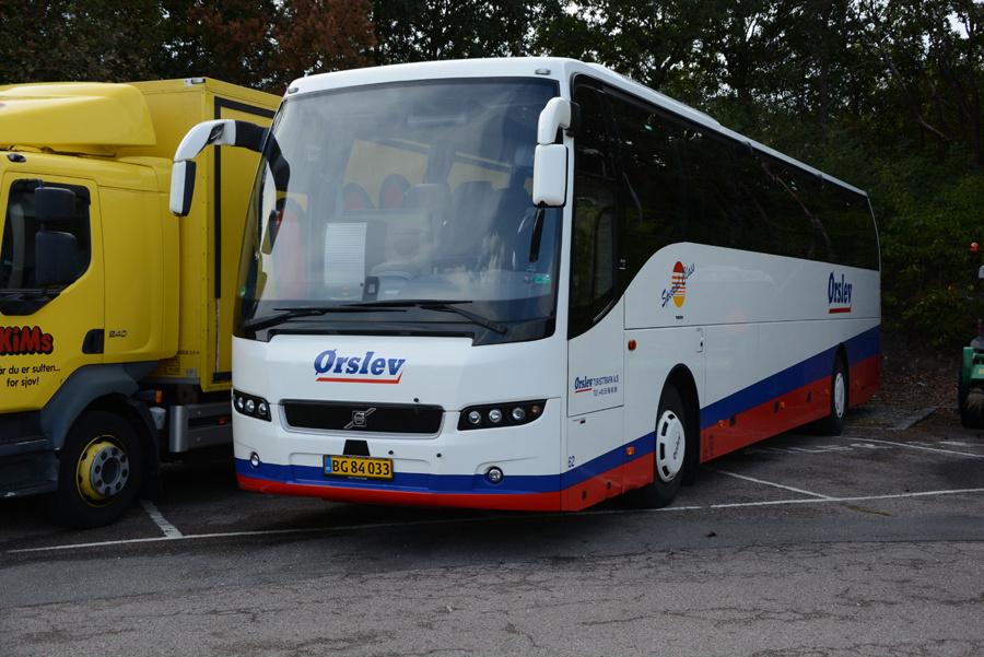 Ørslev Turisttrafik 62/BG84033 i Vordingborg den 8. september 2018