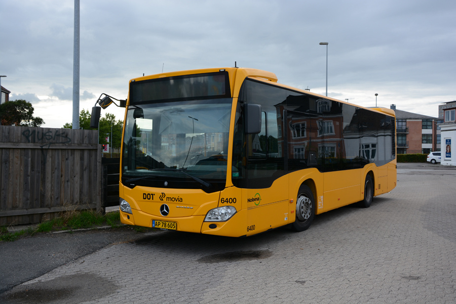 Nobina 6400/AP78605 i Næstved den 8. september 2018