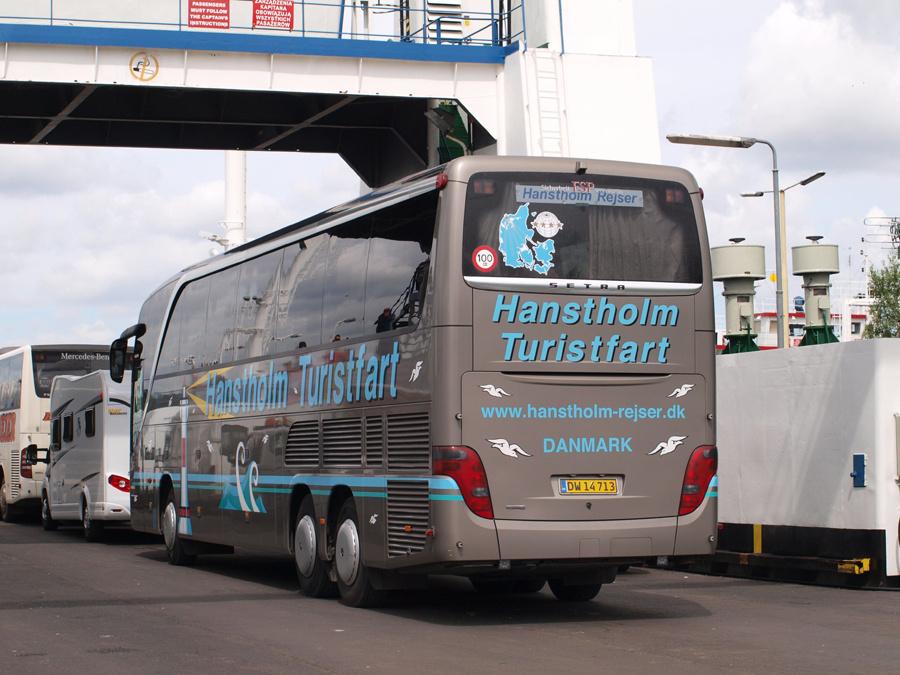 Hanstholm Turistfart DW14713 i Polen den 12. juni 2014