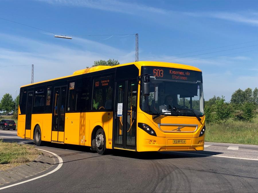 Nobina 6115/XS89914 ved Grimstrupvej i Næstved den 3. juni 2020
