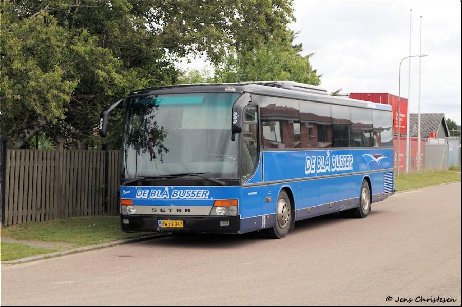 De Blå Busser BW93047 i Esbjerg den 3. juli 2020