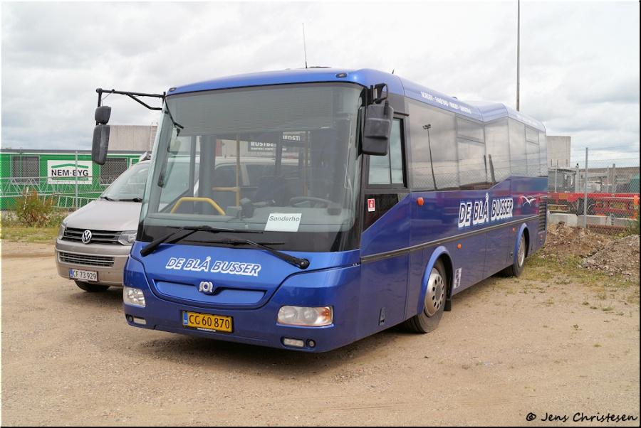 De Blå Busser CG60870 i Esbjerg den 3. juli 2020