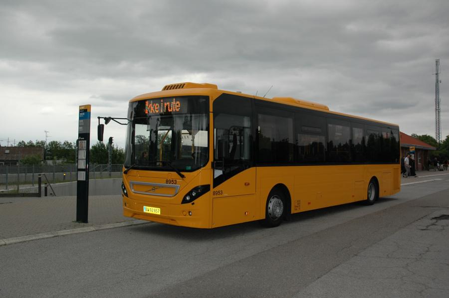 City-Trafik 8953/BW92857 ved Helsinge Station den 28. maj 2011
