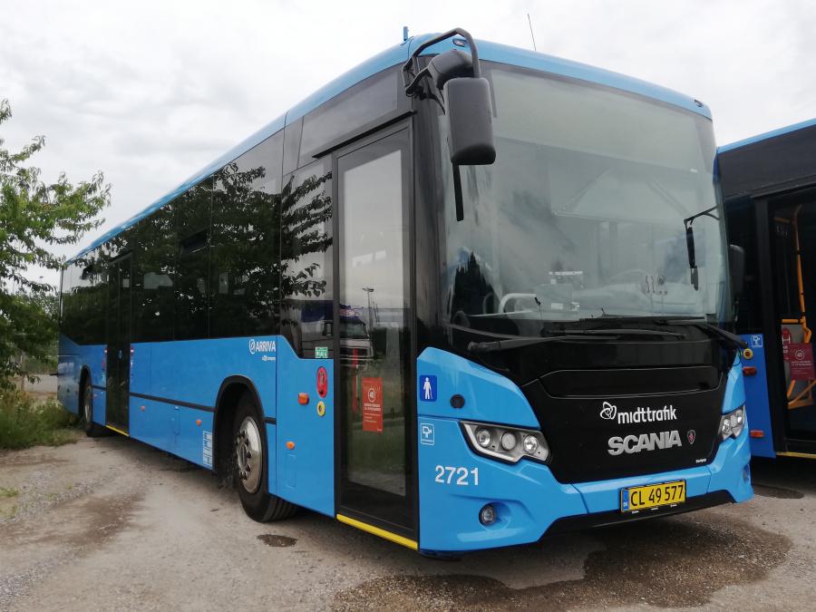 Arriva 2721/CL49577 i Randers den 28. juni 2020
