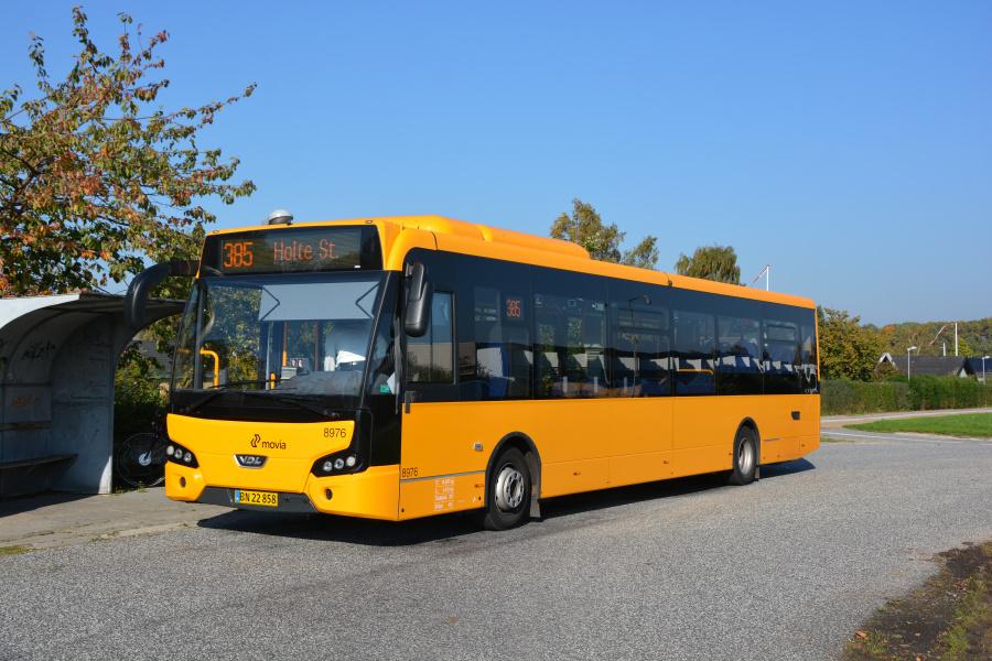De Blaa Omnibusser 8976/BN22858 i Allerød den 11. oktober 2018