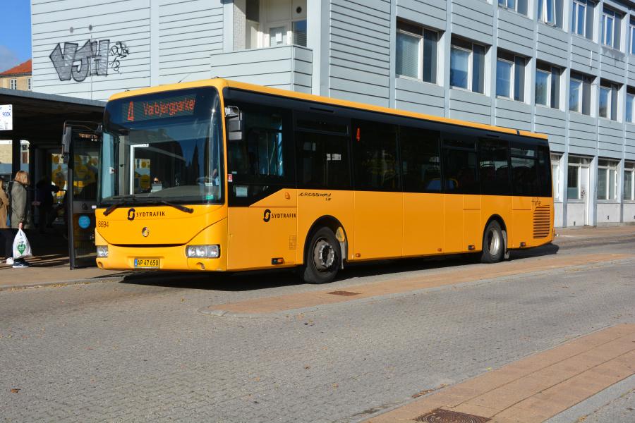 Tide Bus 8694/AP47650 i Haderslev den 18. oktober 2018