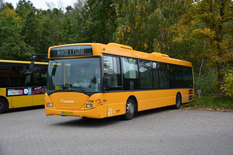Arriva 1789/AH32223 i garagen i Horsens den 6. oktober 2018