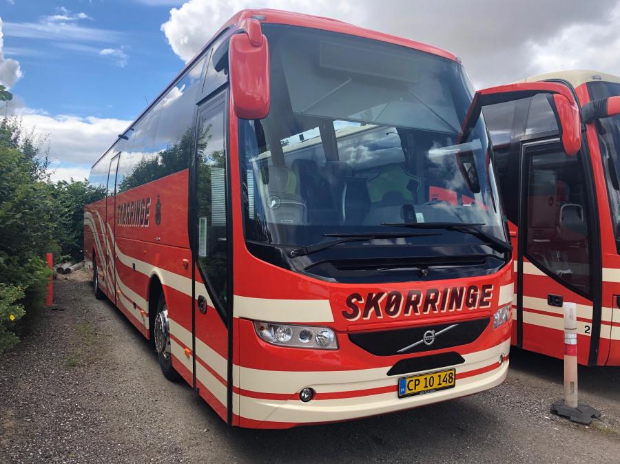 Skørringe Turistbusser CP10148 i garagen den 22. juli 2020