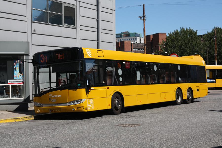Århus Sporveje 714/AM39252 på Århus Rutebilstation den 31. juli 2020