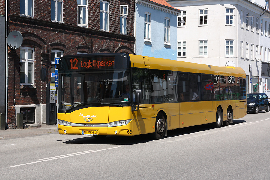 Århus Sporveje 689/AH78581 ved Århus Rutebilstation den 31. juli 2020
