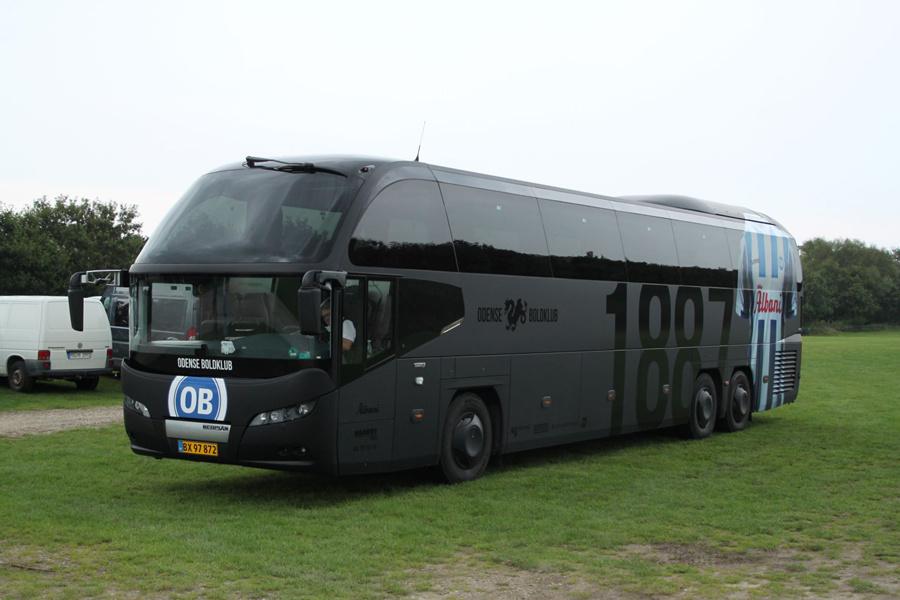 H C Biler 57/BX97872 ved Ribe Vikinge Center syd for Ribe den 3. september 2020