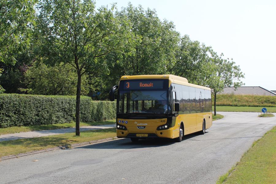 Umove 405/XS92857 på Stendalsvej i Romalt den 11. august 2020