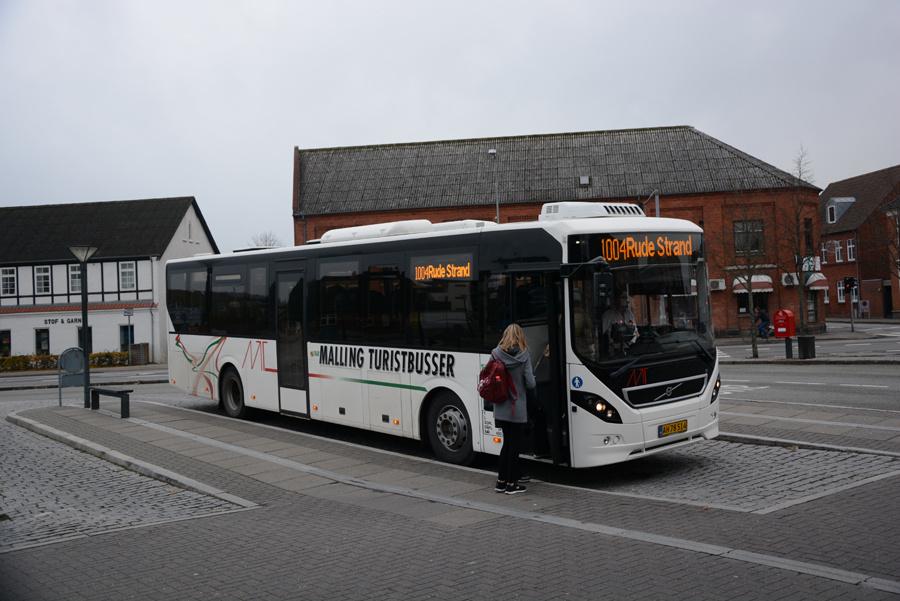Malling Turistbusser 55/AH78514 i Odder den 13. november 2018