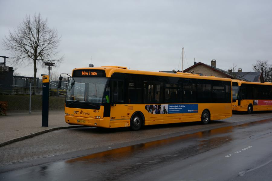 Keolis 8517/AW95407 ved Hvalsø Station den 15. december 2018