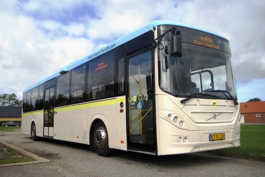 Hørby Rute- og Turistbusser CT51226 i Hørby den 8. september 2020