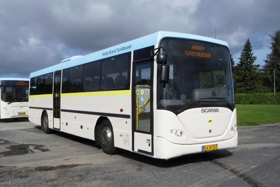Hørby Rute- og Turistbusser CA39727 i Hørby den 8. september 2020