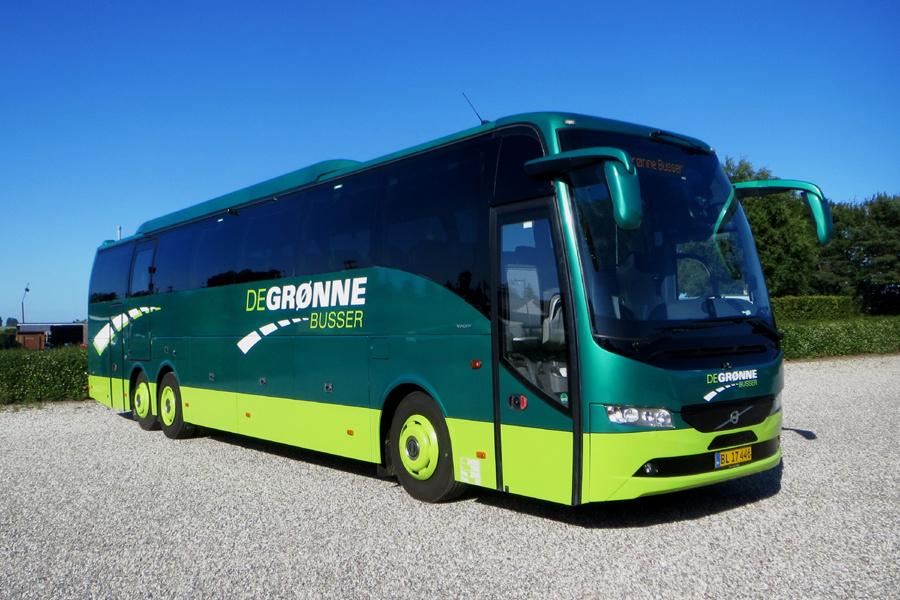 De Grønne Busser BL17446 i Væggerløse den 23. juni 2020