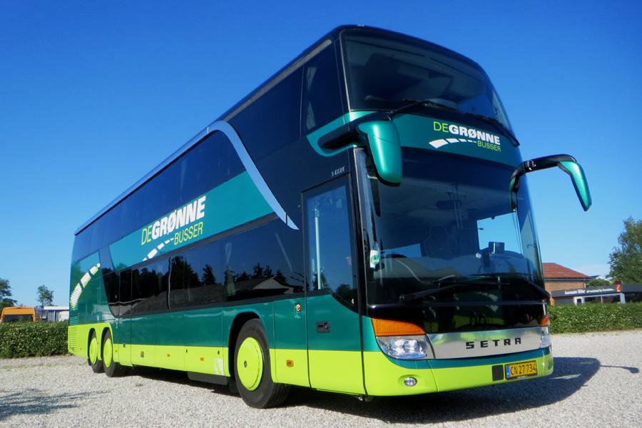 De Grønne Busser CN27734 i Væggerløse den 23. juni 2020