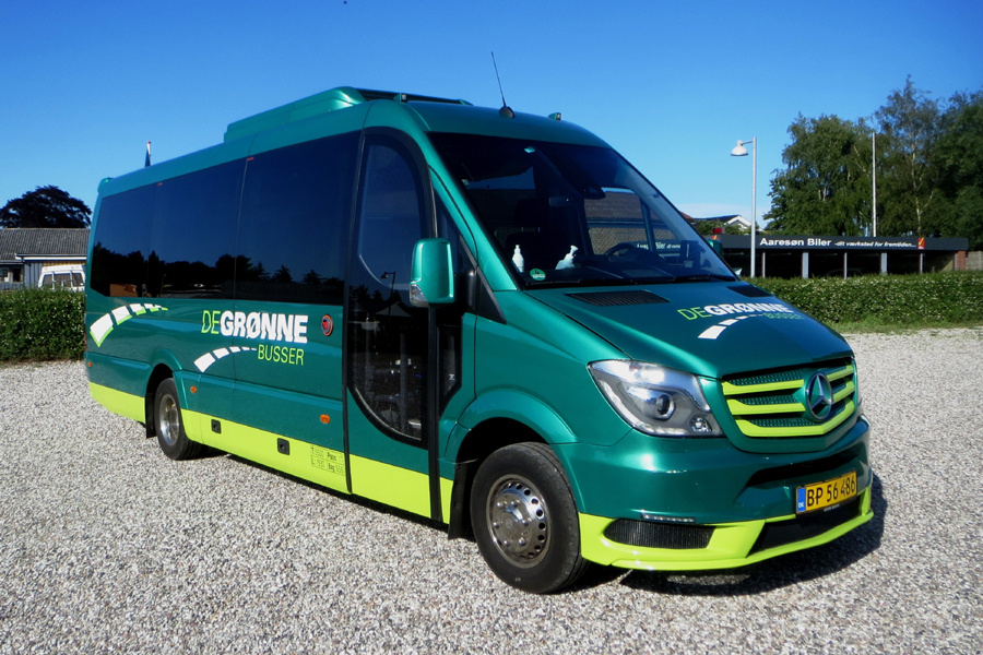 De Grønne Busser BP56486 i Væggerløse den 23. juni 2020