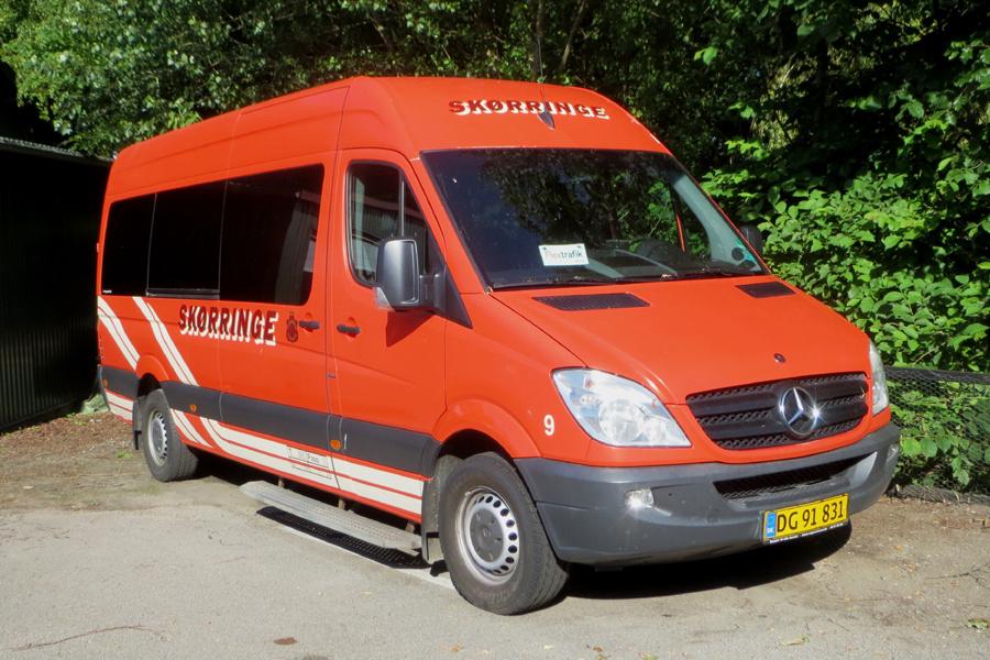 Skørringe Turistbusser 9/DG91831 i Skørringe den 24. juni 2020