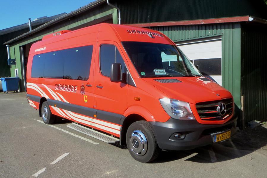 Skørringe Turistbusser AV50243 i Skørringe den 24. juni 2020