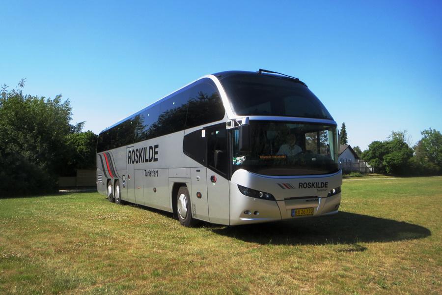 Roskilde Turistfart 5/BX26720 i Karlslunde den 25. juni 2020