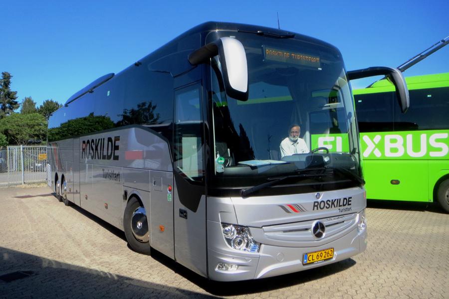 Roskilde Turistfart CL69262 i Karlslunde den 25. juni 2020