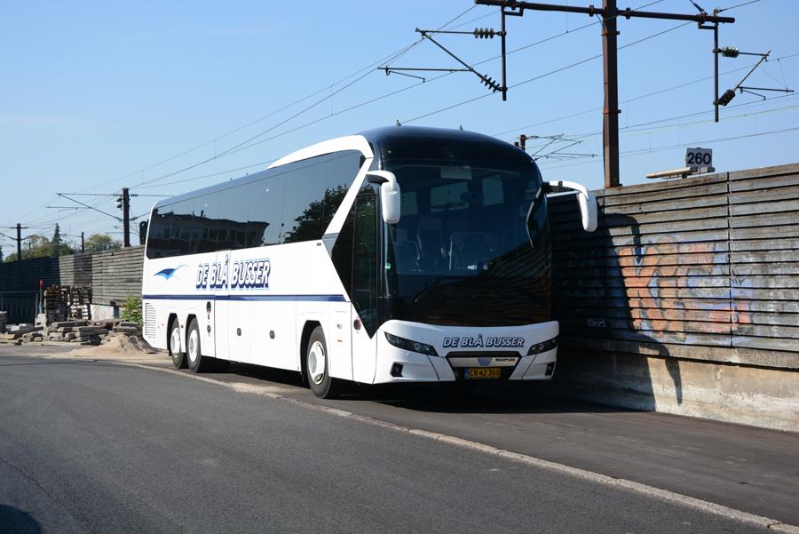 De Blå Busser CN42360 ved Valby Station den 23. september 2020