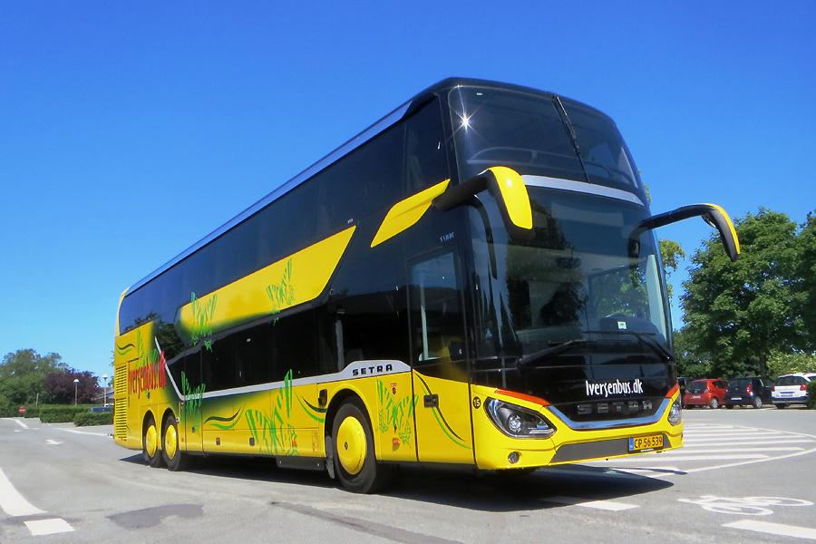 Iversen Busser 15/CP56539 i Bække den 16. juni 2020