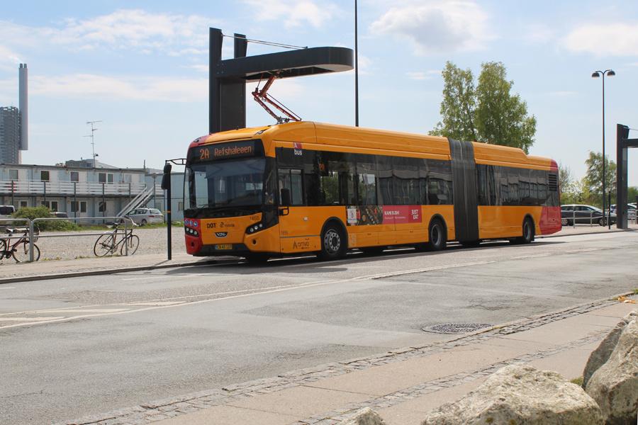 Arriva 1855/CN40127 på Refshaleøen i København den 8. maj 2020