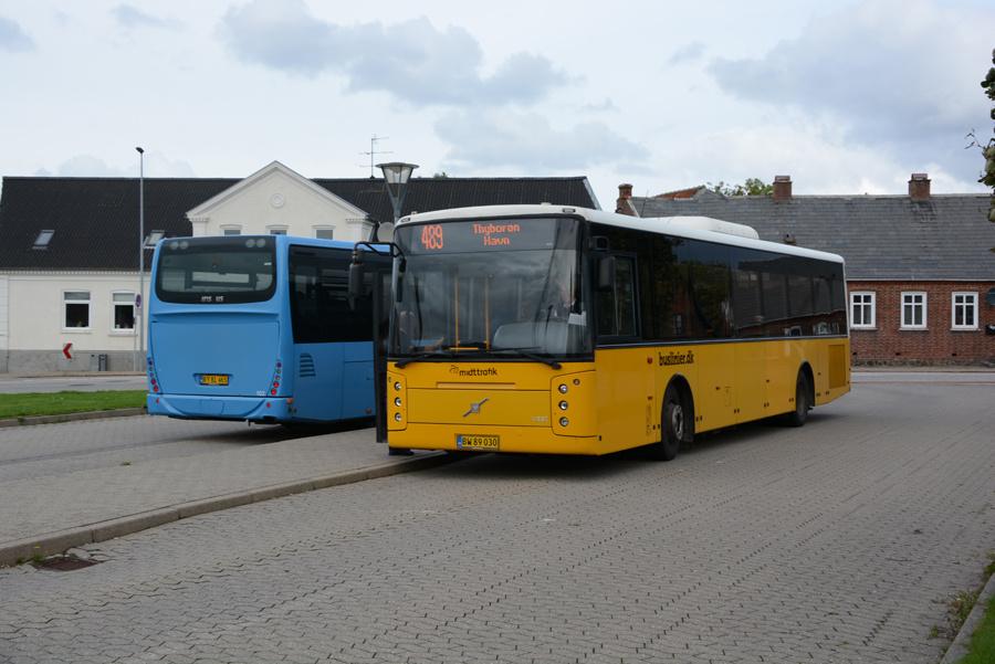 Brande Buslinier 047/BW89030 ved Lemvig Station den 10. september 2018