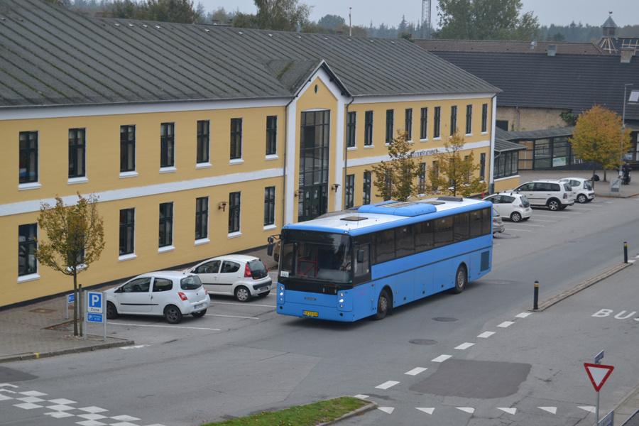 Vebbestrup Turistfart CK53526 ved Skørping Station den 26. september 2019