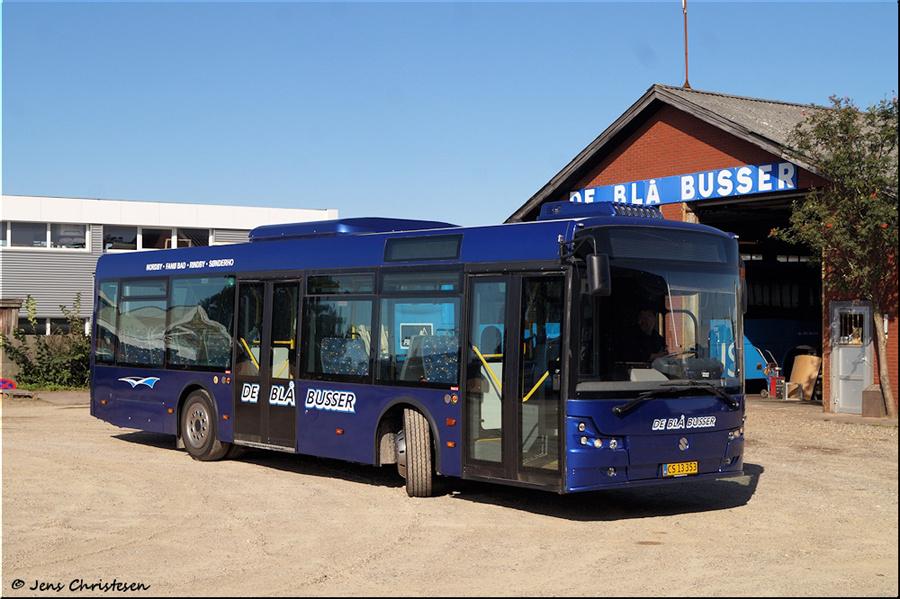 De Blå Busser CS13353 i Esbjerg den 2. september 2020