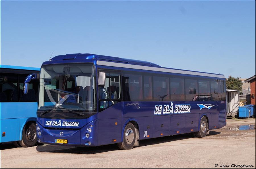 De Blå Busser CS13356 i Esbjerg den 2. september 2020