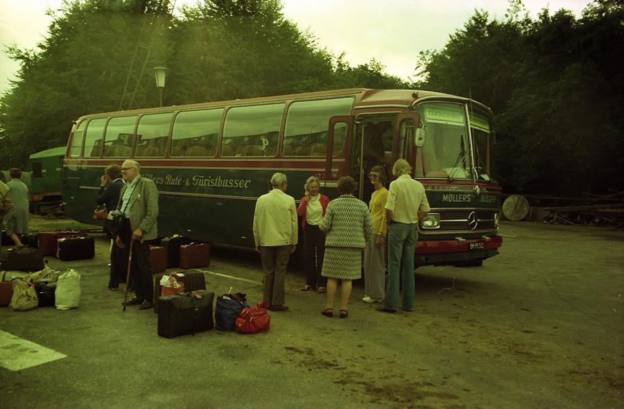 Møllers Busser BM99521 i Fredericia i 1975