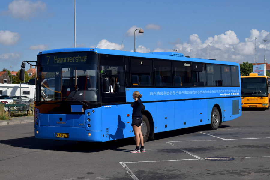 Gudhjem Bus CT14573 på Rønne Havn den 23. september 2020