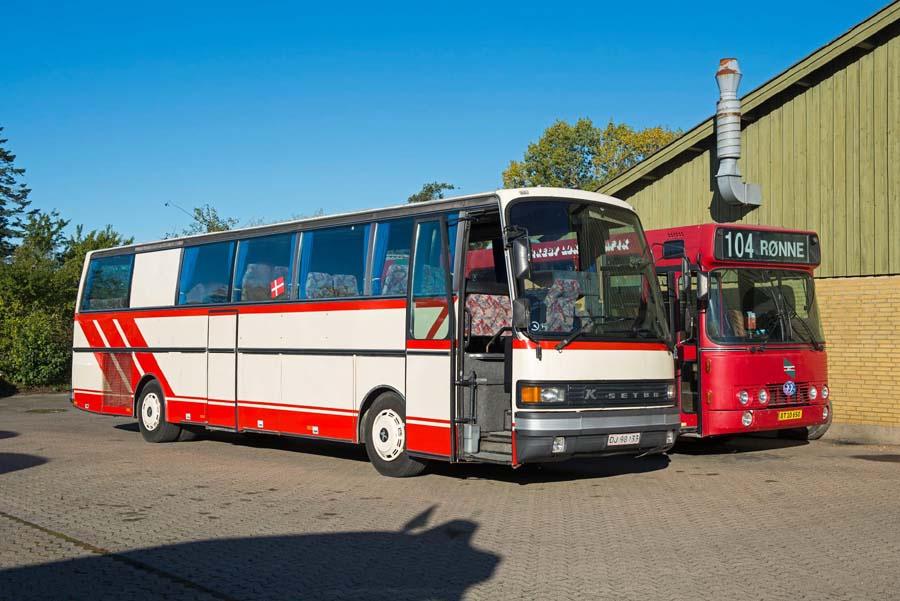 Spies Rejser DJ98133 på Danmarks Busmuseum i Skælskør den 17. oktober 2020