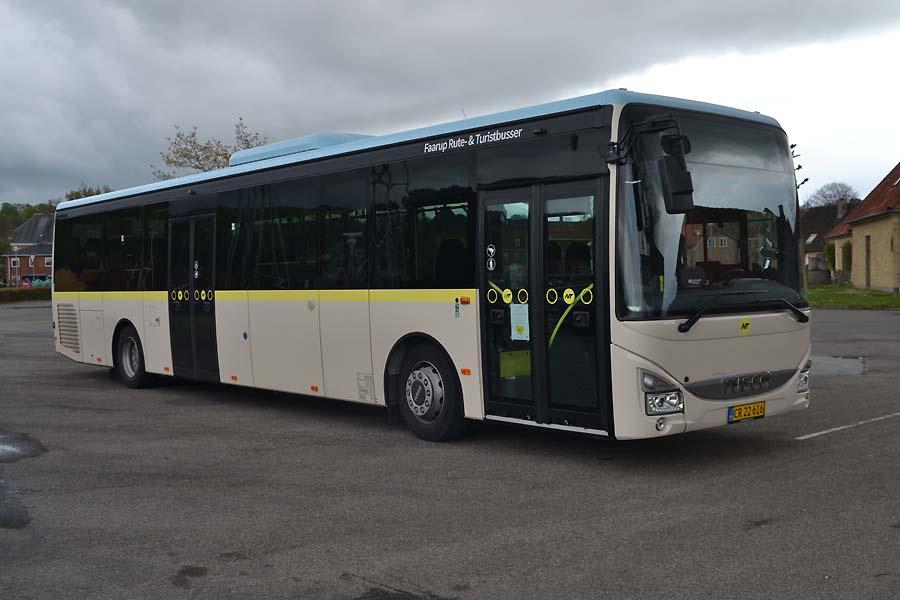 Faarup Rute- og Turistbusser 69/CR22616 i Mariager den 2. maj 2020