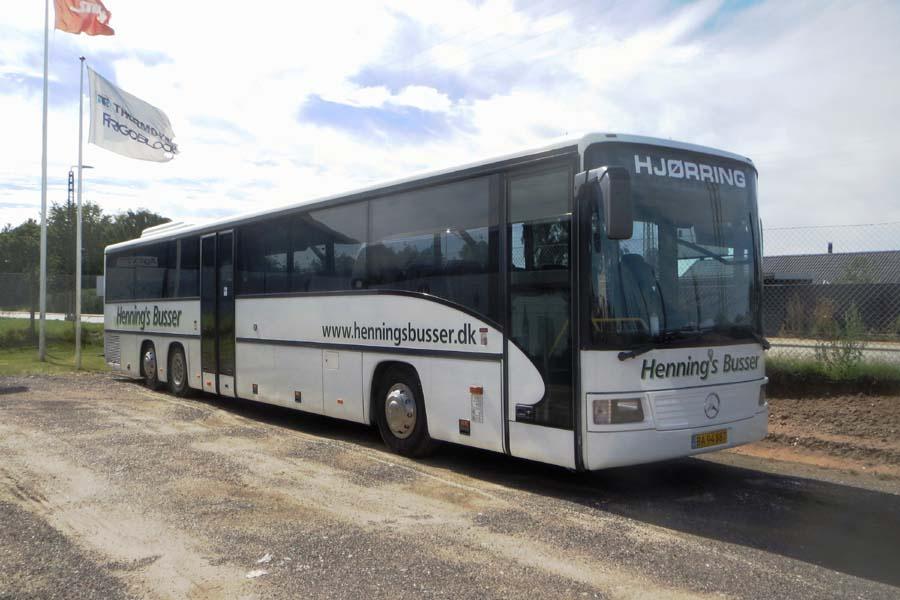 Hennings Busser BA94887 ved Stiholt i Hjørring den 1. august 2020