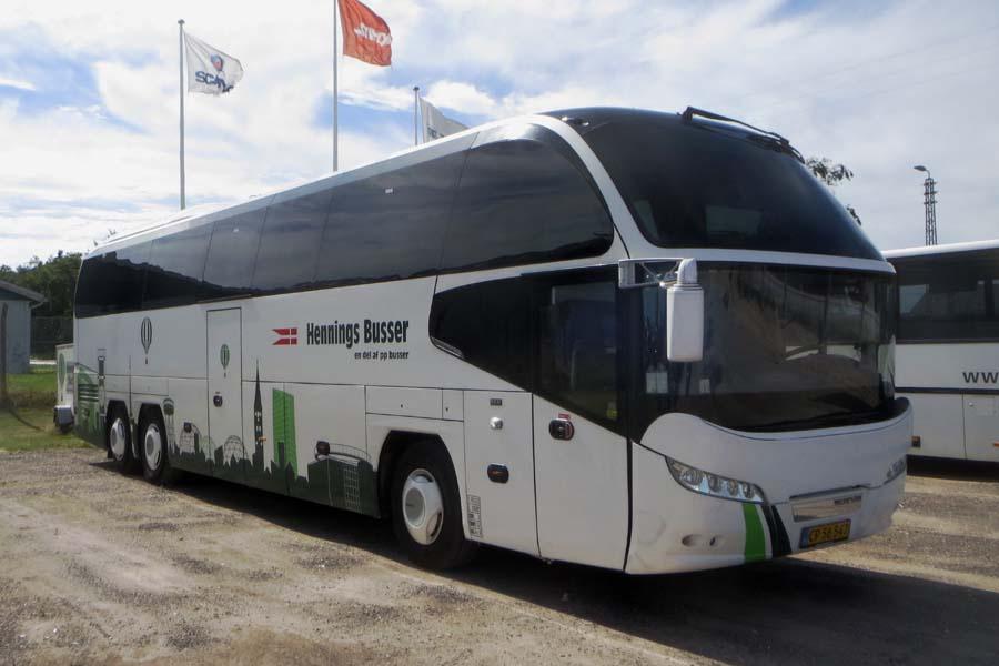 Hennings Busser CP56547 ved Stiholt i Hjørring den 1. august 2020
