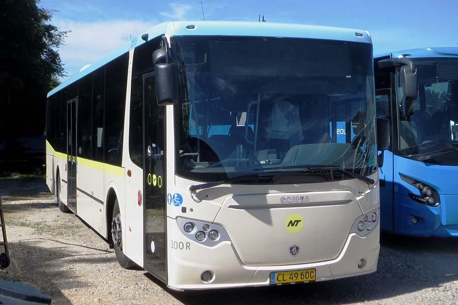 Keolis 300/CL49600 i Tylstrup den 1. august 2020