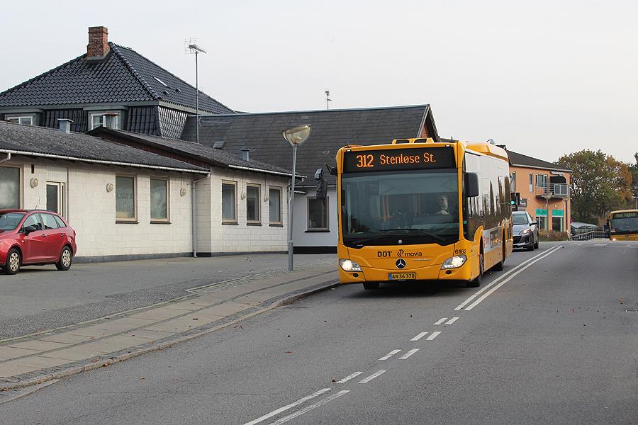Nobina 6162/AN36370 på Østervej i Ølstykke den 1. november 2019