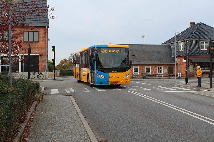 Arriva 1006/AW78150 på Østervej i Ølstykke den 1. november 2019