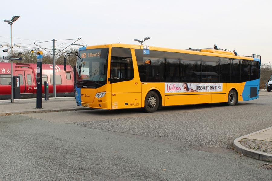 Arriva 1011/XP94368 ved Ølstykke Station den 1. november 2019