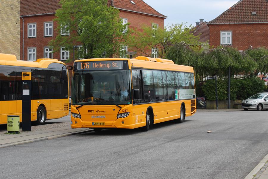 Arriva 1287/CN95866 på Emdrup Torv den 8. maj 2020